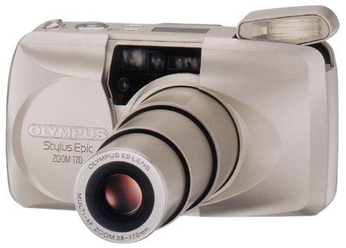 Olympus Stylus Epic Zoom 170 QD Date 35mm Camera
