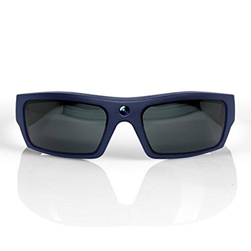 GoVision SOL 1080p HD Camera Glasses Video Recording Sport Sunglasses with Bluetooth Speakers and 15mp Camera - Red (GV-SOL1440- RD)