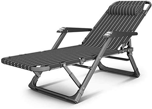 MGE Tumbona Silla Plegable Gravedad Cero, Tumbona reclinable reclinables Sillas de Cubierta a Prueba de Agua y Ajustables for la Playa Patio Muebles de jardín Oficina de Camping al Aire Libre