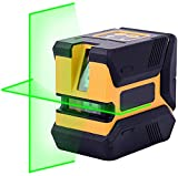 Laser Level,50 FT Green 360° Self Leveling Laser Level with Horizontal and Vertical Line for Indoor/Outdoor,Green Beam Laser Level,Magnetic Base Laser Level,Laser Level Tool