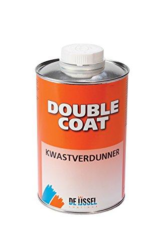 De IJssel Double Coat Kwastverdunner - 500 ml - Pinselverdünnung/Pinselverdünner Zum Auftragen von Double Coat 2k Bootslack mit Pinsel Oder Rolle