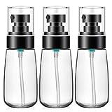 Botella de loción de 3 piezas, Segbeauty 60ml Dispensador transparente Juego de botellas Portátil...