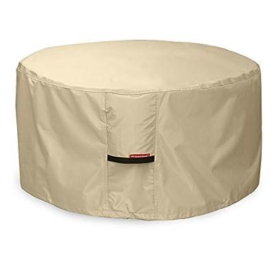 Porch Shield 600D Heavy Duty Patio Fire Pit/Table/Bowl Cover