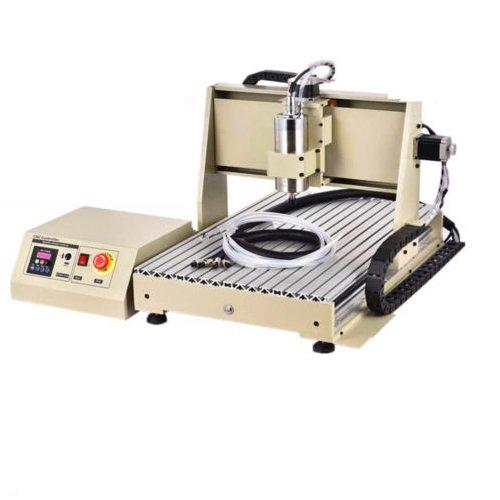 PRIT 6040 3 Eje CNC Router Engraver 1.5KW VFD 3D Carving Engraving Machine, Máquina de grabado para Vidrio Metal Piedra Madera