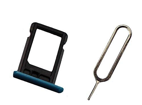 Sim Halter für iPhone 5 C in Blau mit Sim-Nadel - Dealbude24