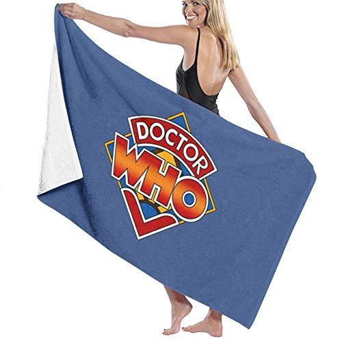 N\ Doctor Who - Toalla de baño con logotipo clásico