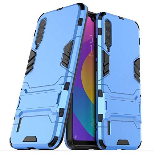 """Max Power Digital Funda para Xiaomi Mi A3 (6.08"""") con Soporte - Carcasa Híbrida Antigolpes Resistente (Xiaomi Mi A3, Azul)"""