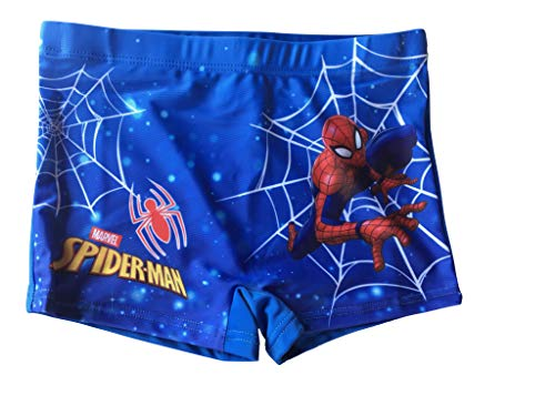 Spiderman Badeboxer, Blau, 104/110