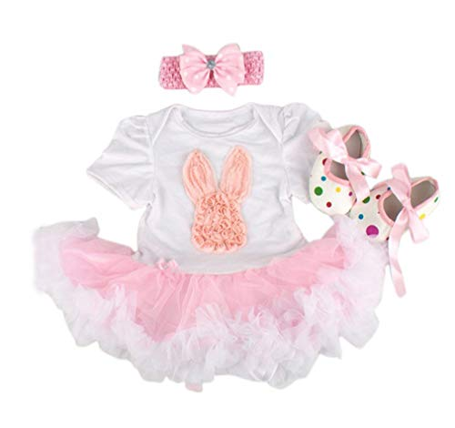 JINGPIN Tutu20-22 very beautiful bow beautiful pink shoes beautiful pink crown dress with 3 in 1 lace border