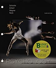 By Daniel L. Schacter Loose-leaf Version for Psychology & LaunchPad 6 month access card (Third Edition) [Hardcover]