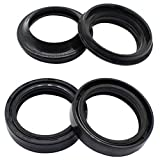 Cyleto Front Fork Oil Seal & Dust Seal Kit 37 x 49 x 11mm for Suzuki GS1000 GS 1000 78-79/ GS1100E GS 1100 E 80-83/ GS1150E 84-86 GS500 GS 500 89-02/ GS550E GS550ES 83-86/ GS850G 79-83