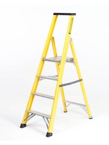 Summit, fibra de vidrio paso escalera plataforma -6 - 1,50 m plataforma: Amazon.es: Bricolaje y herramientas