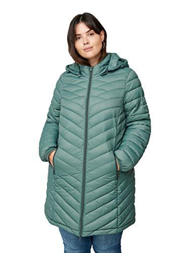 Zizzi Damen Große Größen Jacke Gesteppt Damen Kapuze Gr 42-56