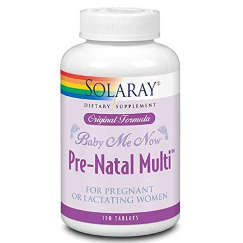 Solaray Baby Me Now Pre Natal Multi 150 Tablets