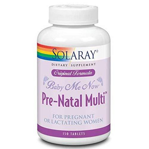 Solaray Baby Me Now Pre Natal Multi 150 Tablets