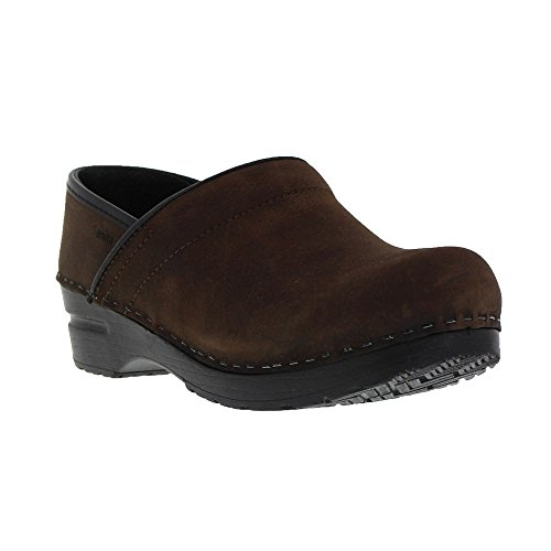 Professional Oil Closed Leather Clog