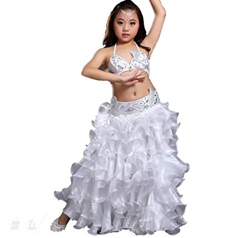 Kinderen Buik Dans Kostuum Set Stage Prestaties Buik Dansende Kleding voor Meisjes India Dans Bollywood Outfit Kids