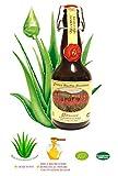 Succo di Aloe ARBORESCENS Etnea con MIELE e ACQUAVITE 500 gr Da Foglie Fresche Ricetta Padre Zago Integratore Alimentare Bio Biologico Alimento Cremoso base Da L'Abruzzese