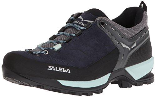 Salewa Damen WS Mountain Trainer Trekking-& Wanderstiefel, Premium Navy/Subtle Green, 40.5 EU
