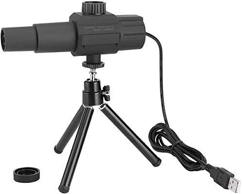 Oumij Telescopio Digital USB 2MP 70X Zoom Detección Inteligente de Movimiento con Trípode, Soporta 4 Dispositivos de Cámara al Mismo...