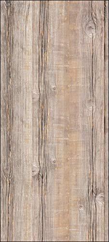 wandmotiv24 Türtapete Holzbrett 90 x 200cm (B x H) - Dekorfolie selbstklebend Sticker für Türen, Tür-Bilder, Aufkleber, Deko Wohnung modern M0720