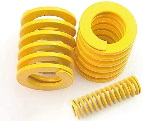 DEWUFAFA Spring Compression Springs Shipping included Manufacturer OFFicial shop Yellow Light Long Stamp Load