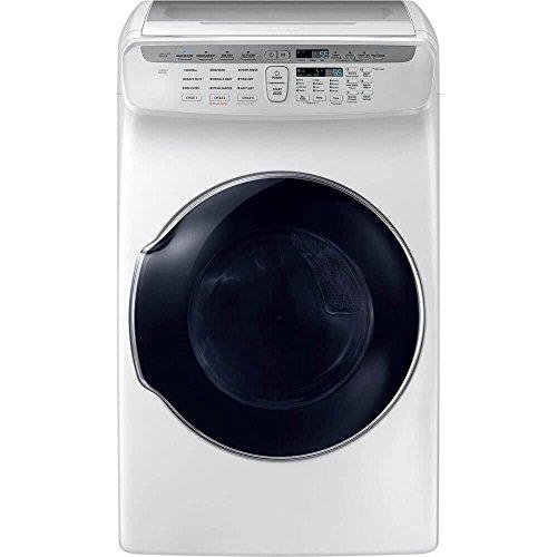 Samsung DVE55M9600W 7.5 Cu. Ft. White Electric Dryer with FlexDry DVE55M9600W/A3