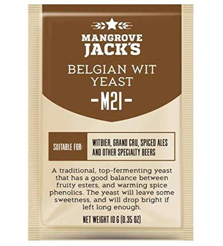 Mangrove-Jack 's-Craft-Serie Hefe M21Belgisches Witbier (10g)
