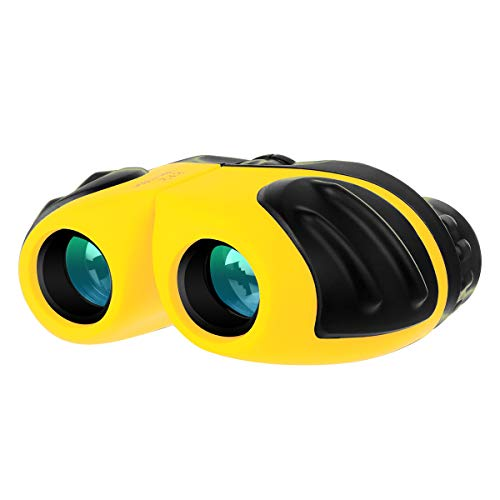 Gifts for 5 6 7 8 Year Old Girls, Compact Shockproof Binocular for Kids Toys for Boys Girls Age 4-10 Birthday Present for Kids