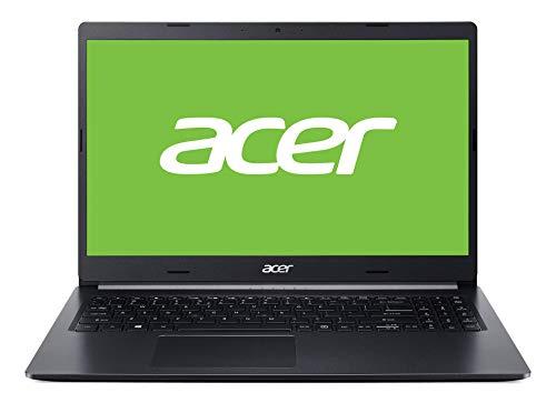 """Acer A515-54 - Ordenador portátil de 15.6"""" HD (Intel Core i5-8265U, 8GB RAM, 1TB HDD + 128GB SSD, Intel HD Graphics 620, Windows 10 Home) negro - Teclado QWERTY Español"""