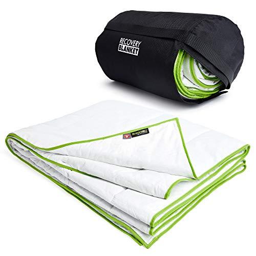 BLACKROLL Recovery Blanket - 4 Jahreszeiten Bettdecke mit Primaloft®-Technologie. Made in Germany, atmungsaktive, vegane und Oeko Tex® zertifizierte Schlafdecke