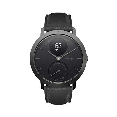 Withings / Nokia Steel HR Hybrid Edición Limitada - Reloj, Unisex Adulto, Gris (Slate Grey), Negro, 40mm