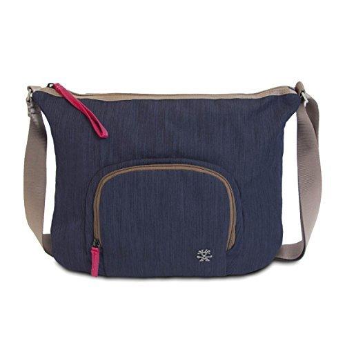 Crumpler Doozie Photo Sling DZPS-012 Kameratasche mit 24,63 cm (9,7 Zoll) Tabletfach inklusive Kameraeinsatztasche dunkel blau