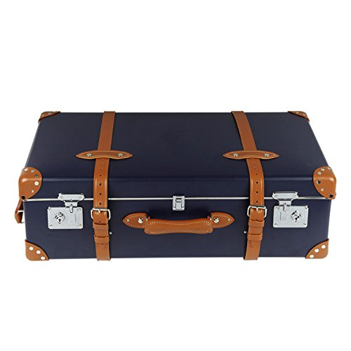 Land Rover Heritage Trunk Luggage Set, 860 cm, Navy