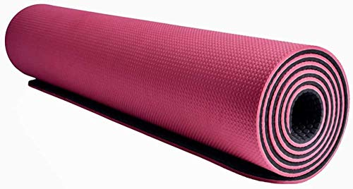 Empresal Non Slip Yoga Mat | TPE High-Density Anti Rip Material | Dual Layer Structure for Optimal Grip | Wide Size for Gym or Home