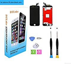 Premium Screen Replacement, Compatible iPhone 6S Plus 5.5inch (Model A1634, A1687) LCD Replacement Screen with 3D Touch Screen Digitizer Fram Assembly Full Set + Free Tools (Black)