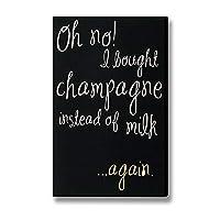 シャンパンホーム メタルポスター壁画ショップ看板ショップ看板表示板金属板ブリキ看板情報防水装飾レストラン日本食料品店カフェ旅行用品誕生日新年クリスマスパーティーギフト