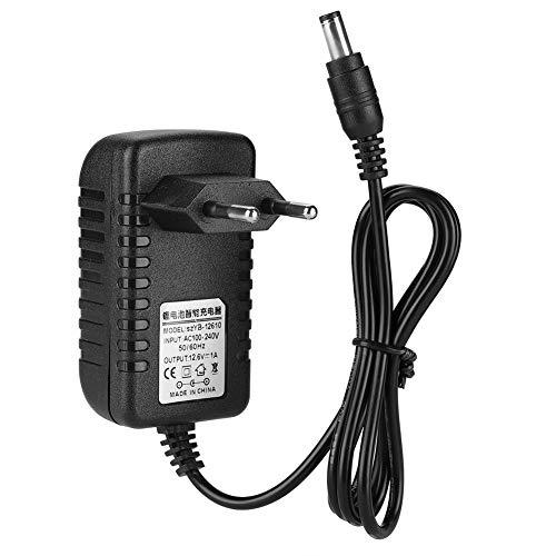 Oplaadadapter, 12,6 V/1 A, lithium batterijlader met beschermingsniveaus, netadapter voor elektronische apparaten (EU)