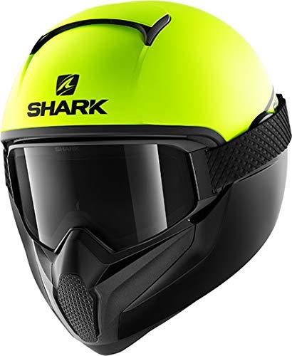 Shark Motorradhelm VANCORE 2 NEON SERIE MAT YKK, Gelb, XL