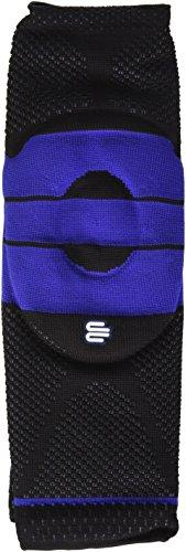 BAUERFEIND GenuTrain Knee Brace, zwb8652589jp35, Black - Black, XXS