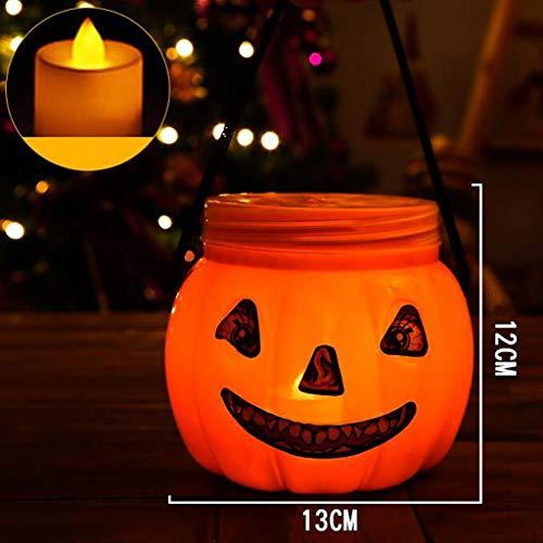 Glzcyoo Halloween Decorationspumpkin Lichten, halloween Decor, pompoen Decorpompoenen, outdoor pompoen Decor, Halloween Lichten, pompoen Decoraties, Tuin, Poort, Yard, Jack O Lantaarn