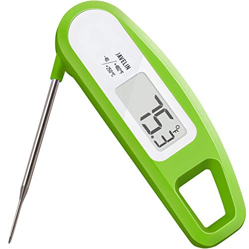 Lavatools PT12 Javelin Digital Instant Read Meat Thermometer for Kitchen Food Cooking Grill BBQ Smoker Candy Home Brewing Coffee and Oil Deep Frying