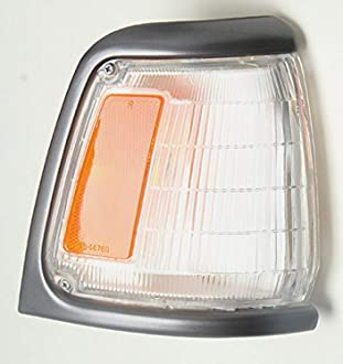 TYC 18-1991-36 Corner Lamp Chrome with Bulb-L 92-95 Compatible with Toyota PICKUP 2WD 4RUNNER DriverSide