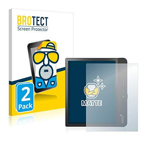 BROTECT 2X Entspiegelungs-Schutzfolie kompatibel mit Tolino Epos 2 Displayschutz-Folie Matt, Anti-Reflex, Anti-Fingerprint