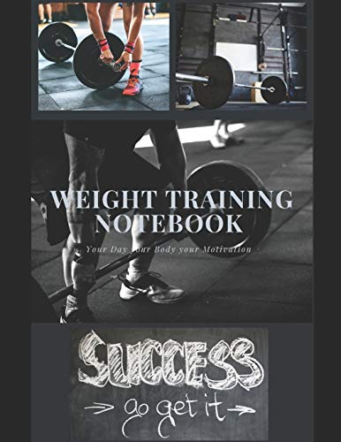 Weight Training Notebook: A Notebook is for all the Things You really want to Keep on top of. A new Notebook is like opening a New Phase of Life. 250 Pages Daily Template