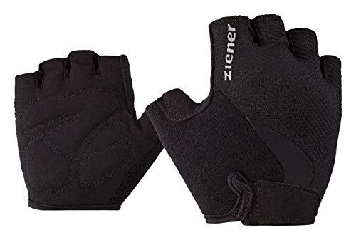 Ziener Kinder CRIDO junior Bike Glove Fahrrad-handschuh, schwarz (black), M