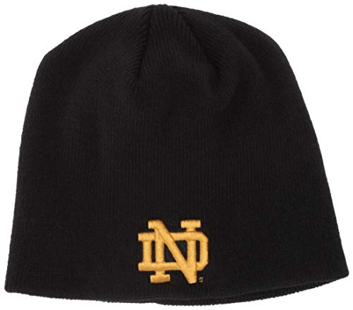 OTS NCAA Notre Dame Fighting Irish Youth Beanie Knit Cap, Team Color, Youth