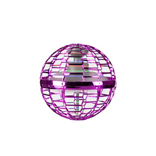 Bola giratoria luminosa, bola voladora mágica, punta de dedo flotante, juguete volador de descompresión, juguete de bola voladora, (apto para adultos y niños)