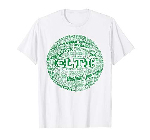 Celtic FC green typography t-shirt