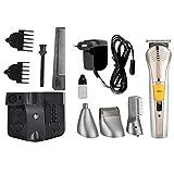 Fdit Cortadora de Pelo eléctrica Multifuncional Trimmer Barba Nariz afeitadora máquina de Corte de la UE Enchufe 220V(SM-688)